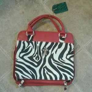 Accessories - zebra bible cover